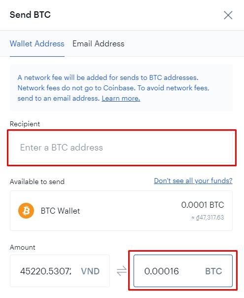 cách tạo ví Bitcoin